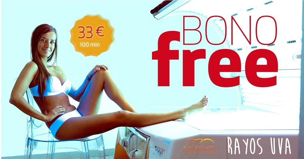 oferta rayos uva bono free